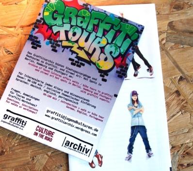 Flyer ©Archiv der Jugendkulturen